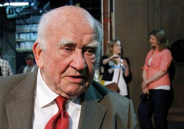 In this May 29, 2012 file photo, actor and former Screen Actors Guild President Ed Asner is interviewed in Portland, Ore.