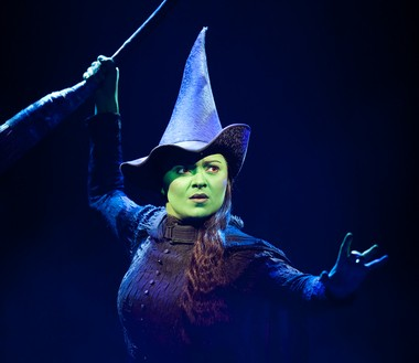 "Jennifer DiNoia plays Elphaba in ""Wicked,"" which comes through Miller Auditorium April 24 through May 5."