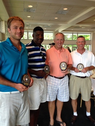 First Place Team winners (left to right): Jason Ryan, MD; Albert Little; James Babel, MD; and Michael Hardiman, MD.