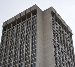 The Patrick V. McNamara Federal Building in Detroit is home to numerous federal agencies including the FBI, IRS, Social Security Administration and more. The 1 million sq. ft office building is 27-stories tall.