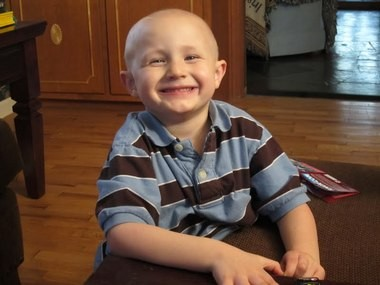 5-year-old cancer patient Kevin Linder the inspiration for