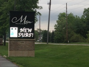 M Spa Salon and Day Spa, 2276 E. Centre Ave. in Portage, is the subject of a social media uproar after a customer posted on Facebook an account of the spa owner berating the mother of an autistic child who was crying during a haircut.