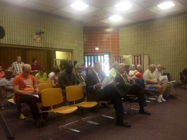 About 30 people attended a July 22 meeting of the Kalamazoo Township Board of Trustees, which considered a non-discrimination ordinance and regulations on overnight consumer fireworks use.