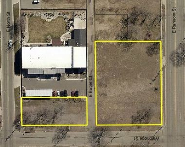 Ransom Real Estate wants to buy these two parcels on Kalamazoo's north side from the city's Brownfield Redevelopment Authority.
