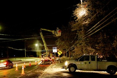 Crews have been working round the clock since the storm struck Dec. 22.