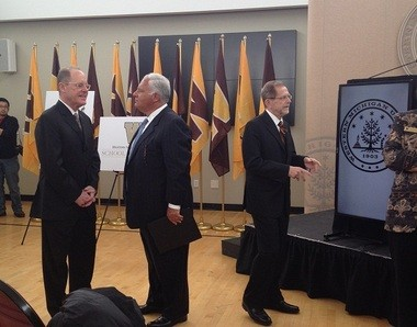 Western Michigan University revealed the name of the WMU School of Medicine on Tuesday.