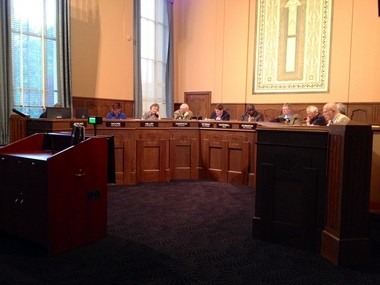 The Kalamazoo City Commission meets on May 19, 2014.