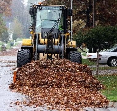 Portage begins its leaf pickup program Oct. 24.
