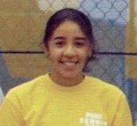 A 2006 file photo of Dahlia Yehia when she was on the Portage Central tennis team