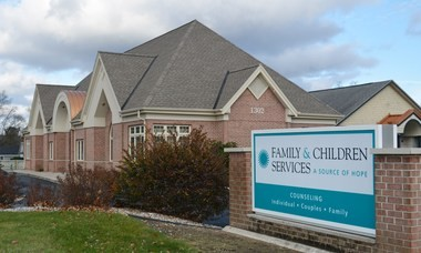The new Family & Children Services building in Portage.