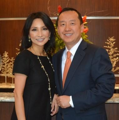 Lynn and Charles Zhang