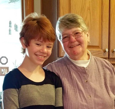 Shooting spree victim Abigail Kopf, 14, remained in critical condition Monday, Feb. 22, at Bronson Methodist Hospital. She is shown with shooting victim Barbara Hawthorne, whom she called Grandma Barb. Hawthorne was among those who died Saturday night.- Courtesy of The Kopf family.