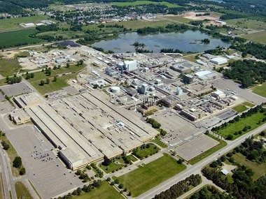 The Pfizer manufacturing complex in Portage.