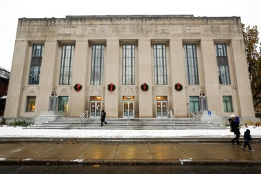 Kalamazoo City Hall was photographed In Kalamazoo, Mich., Thursday, Dec. 8, 2016. (Bryan Bennett | MLive.com)