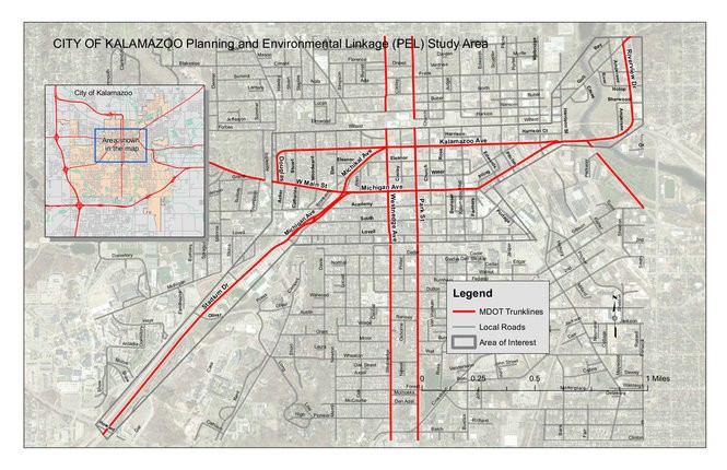 This MDOT Planning and Environmental Linkages study will engage stakeholders, the public and others to research and discern what fits these roads in Kalamazoo County. (Courtesy | MDOT)