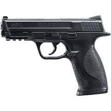 Nicholas King had a toy Smith and Wesson semiautomatic handgun like this one when he was shot by police Saturday.