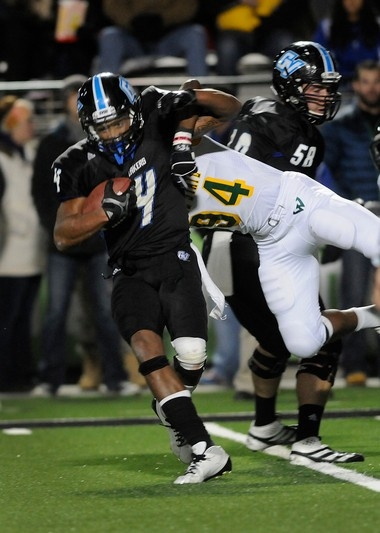 Charles Johnson looks to improve his draft prospects at a pro day Monday for NCAA Division II prospects at Lubbers Stadium.