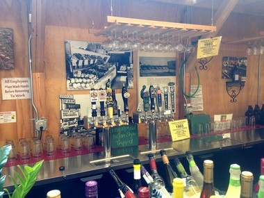 Horrock's Tavern: In late July, Horrock's Farm Market in Lansing began selling beer and wine by the glass, allowing shoppers to drink while they shop. Customers can also purchase growlers or bring in their own growlers. Horrock's is located at 7420 W Saginaw Hwy.