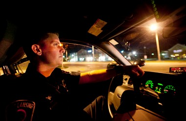 East Lansing Police Officer Travis Bove in 2011 arrested more drunken drivers, 111, than the entire Ann Arbor Police Department. He arrested just 15 last year, as he underwent SWAT training and the city's DUI arrests dropped sharply.