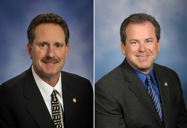Reps. Matt Lori (R-Constantine) and Phil Cavanagh (D-Redford Township) sat on the Michigan Mental Health and Wellness Commission.