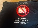 My old T-shirt from the Campaign for Academic Freedom.