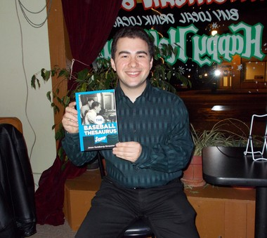 Lansing Lugnuts broadcaster Jesse Goldberg-Strassler was busy promoting his new book, The Baseball Thesaurus, this past off-season. He is returning to the Lugnuts for his fifth season in 2013.
