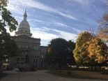 Pictures of the Michigan Capitol from throughout the year