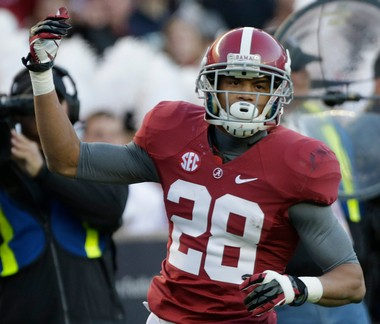 Alabama cornerback Dee Milliner remains the popular choice among MLive readers.