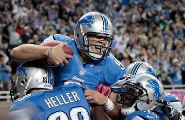 With some veterans leaders leaving the team this offseason, former kicker Jason Hanson believes Matthew Stafford will step up and make the Detroit Lions his team.