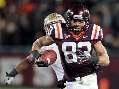 The Detroit Lions used their sixth round draft pick on Virginia Tech receiver Corey Fuller.