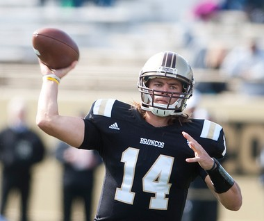 The Detroit Lions parted ways with former Western Michigan quarterback Alex Carder on Wednesday.