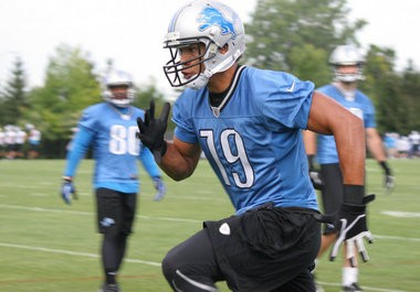 The Detroit Lions released five players on Friday, including veteran wide receiver Chaz Schilens.