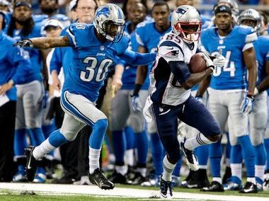 Detroit cornerback Darius Slay was burned last week against the Patriots, but learned his lesson.
