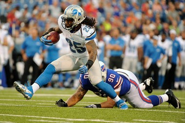 Mikel Leshoure had 20 carries for 83 yards in the preseaon, but was inactive for Detroit's opener Sunday against Minnesota.