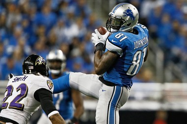 Lions receiver Calvin Johnson was held out of practice Wednesday.