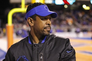 Former Boise State offensive coordinator Robert Prince will become the Lions' new receivers coach.