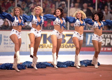 The Dallas Cowboys have become famous for their cheerleaders. The Detroit Lions have no interest in doing the same.