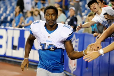 Former Lions receiver Nate Burleson has agreed to sign with the Cleveland Browns.