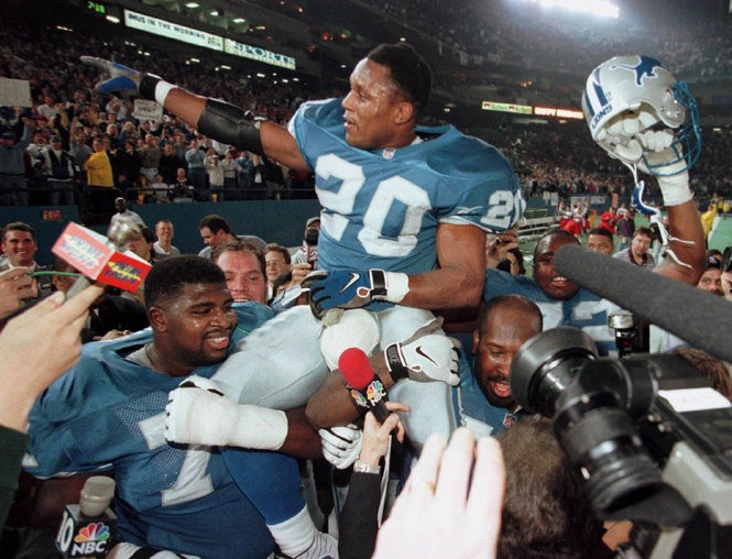 Finding the greatest Detroit Lions, by jersey number: 0-25