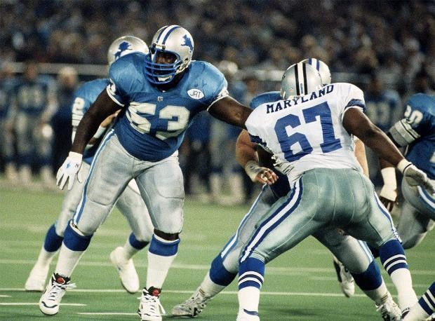 Finding the greatest Detroit Lions, by jersey number: 51-75