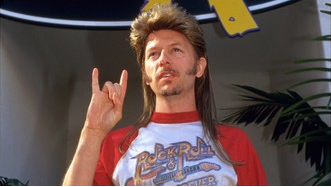 Actor David Spade played the title character in the film 'Joe Dirt.' The mulleted character bears a resemblance to Lions safety and special teams expert John Wendling.