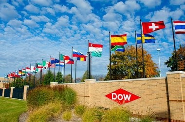Dow Chemical Co. headquarters in Midland.