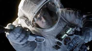"George Clooney in ""Gravity."""
