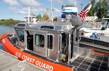 The Cheboygan County Marine Division of the U.S. Coast Guard.