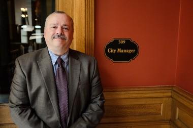 Bay City Manager Rick Finn