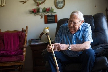 Lean on me: Michigan Woodcarvers Association's ornate canes