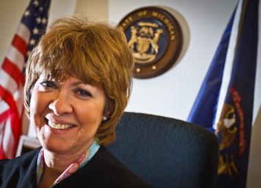 Bay County Probate Judge Karen A. Tighe in 2011.