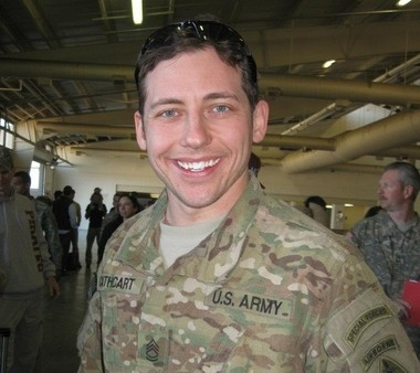 Sgt. Michael Cathcart in a Dec. 2007 photo. (Courtesy Photo)