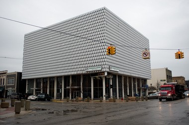 Bay City businessman Paul Rowley is hoping to save the Chemical Bank building from demolition. One of the plans his team is pitching to developers is to remove the 1960s era metal facade and convert the upper floors into residential apartment units.
