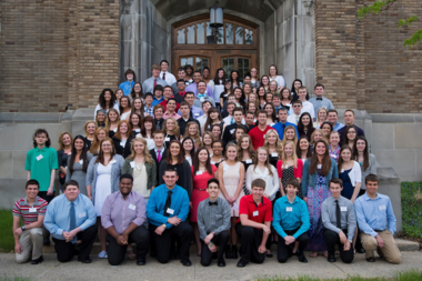 Recipients of the 2015 Bay Commitment Scholarship